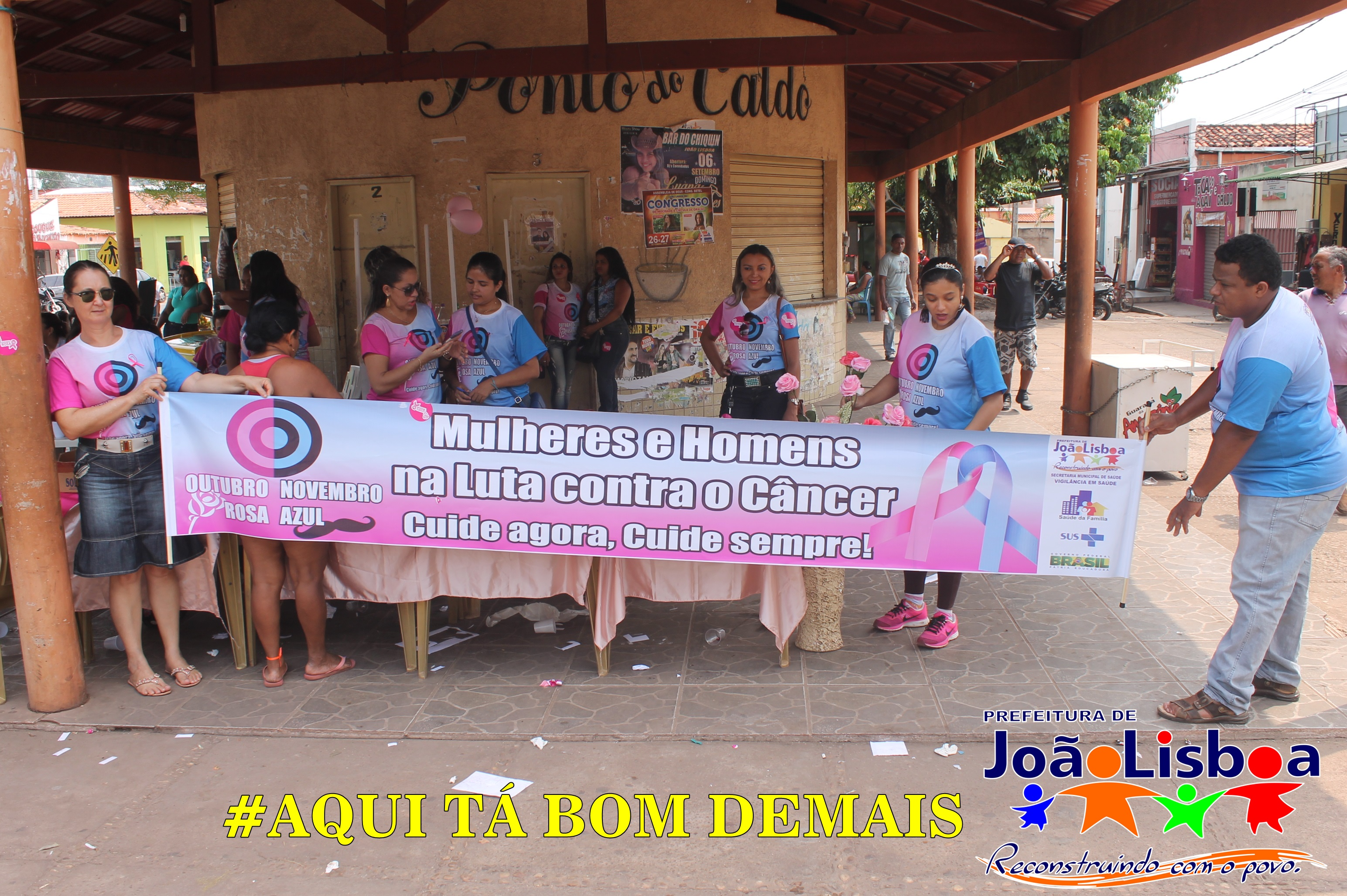 Prefeitura promove campanha do Outubro rosa e Novembro azul