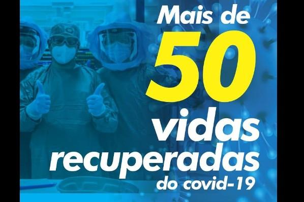 MAIS DE 50 RECUPERADOS