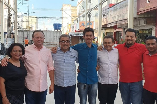 Vilson Soares representa prefeito em visita do vice-governador a Imperatriz
