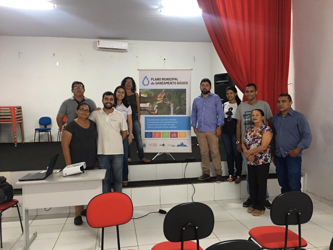 Plano Municipal de Saneamento Básico é discutido em João Lisboa pelo Comitê local!
