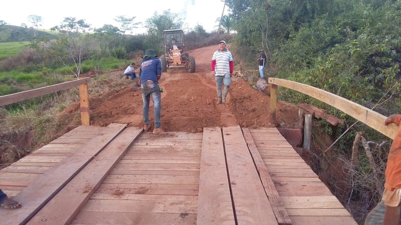 Ponte Reconstruída, acesso liberado e tudo normalizado