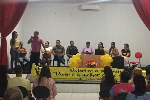 SETEMBRO AMARELO: Prefeitura de João Lisboa mantém palestras de conscientização durante todo o mês