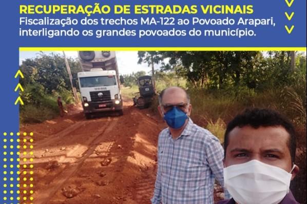 RECUPERAÇÃO DE ESTRADAS VICINAIS: