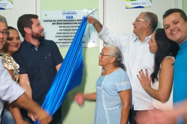 Prefeitura de João Lisboa entrega novo CEO - Centro Especializado de Odontológicas