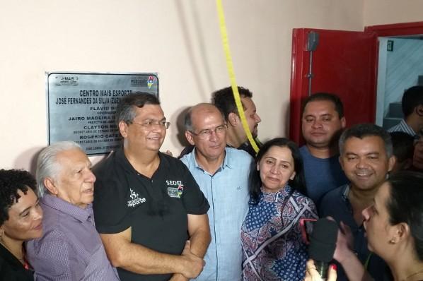 Prefeito Jairo e o Governador Flavio Dino inauguram Complexo Poliesportivo na Cidade Nova