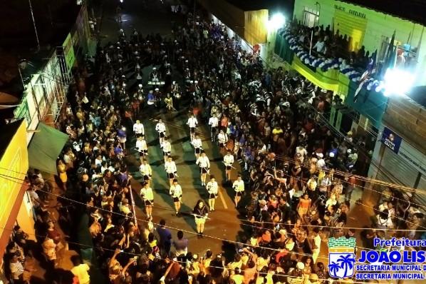 Costumes, história e cultura de João Lisboa foram apresentados durante os desfiles
