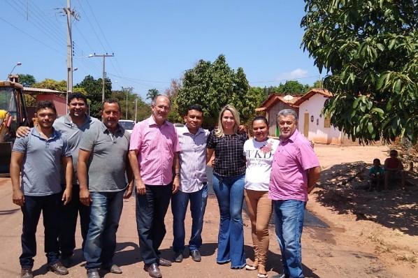 Centro dos Carlos recebe operação tapa-buracos