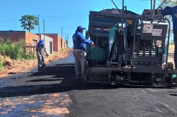 Prefeitura inicia pavimentação asfaltica em vias urbanas de João Lisboa!