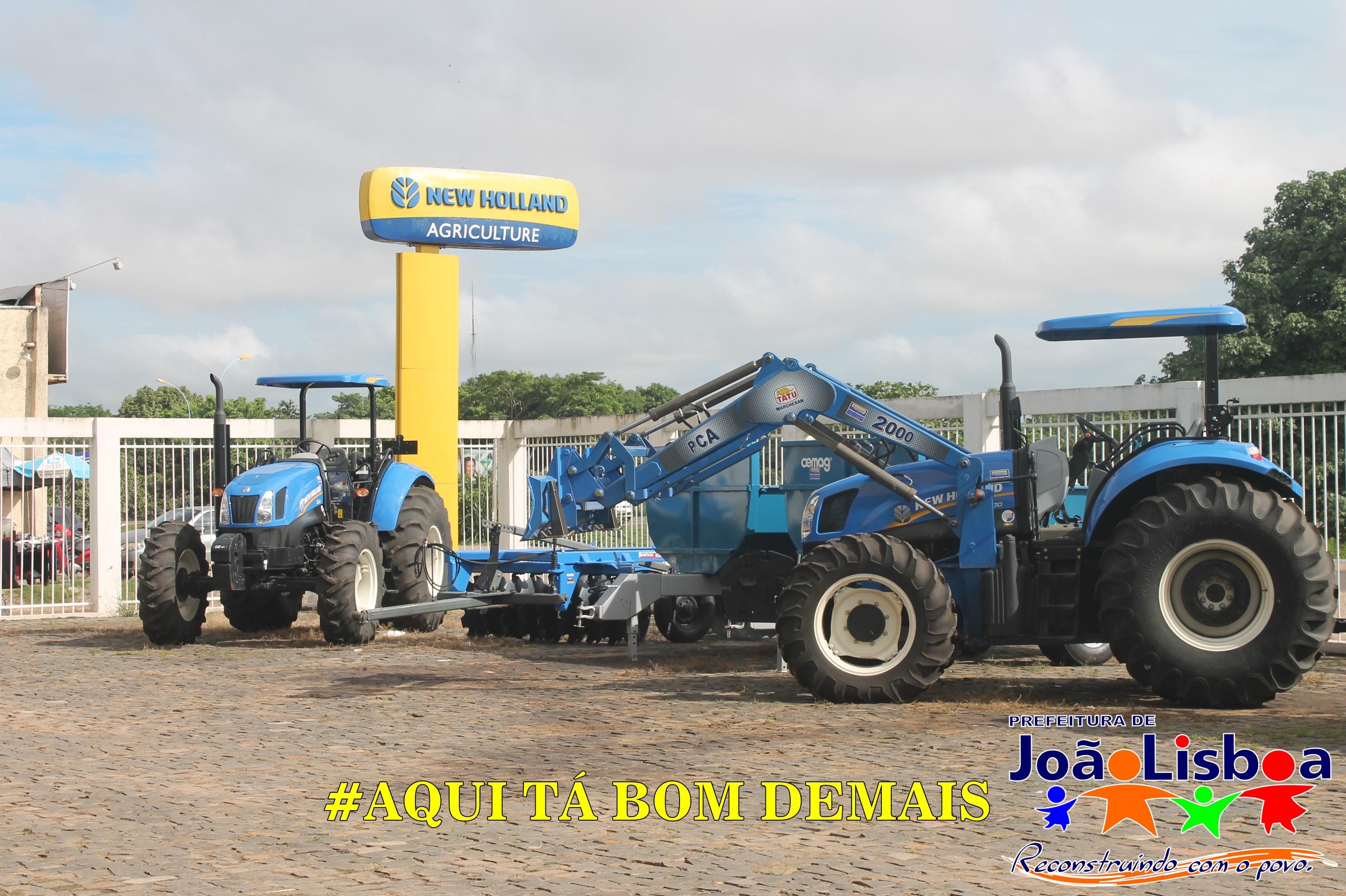 Prefeitura adquire novas máquinas agrícolas