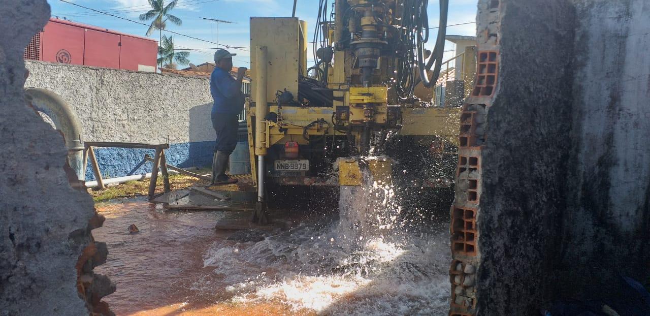 Abastecimento de água será normalizado amanhã, sexta-feira, (13), garante encarregado da Caema