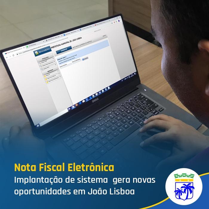 Implantação de sistema de nota fiscal eletrônica gera novas oportunidades em João Lisboa